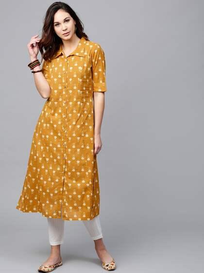 ff4467a592ce A Line Kurtas - Buy A Line Kurtas online in India