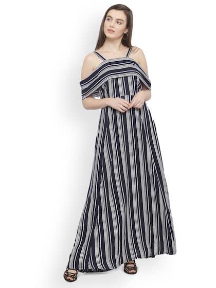 c1e192298b41d Long Dresses - Buy Maxi Dresses for Women Online in India - Upto 70% OFF
