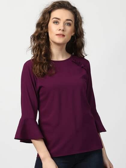 27c8603b970 Tops - Buy Designer Tops for Girls & Women Online | Myntra