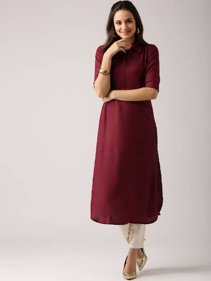 d64bf1aa1b5 High Slit Kurta - Buy High Slit Kurtas Online in India at Myntra