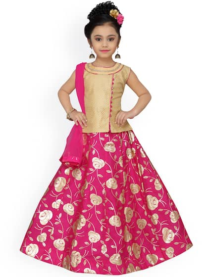 68ad223a2a9 Kids Lehenga - Buy Lehenga for Kids Online in India