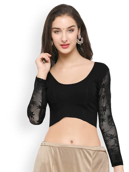 d96b3fa02654ad Designer Blouse - Buy Designer Blouses Online in India | Myntra
