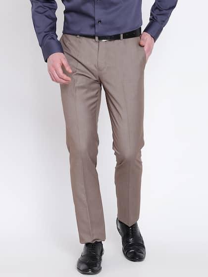 90e464eba80 Blackberrys. Men Regular Fit Formal Trousers
