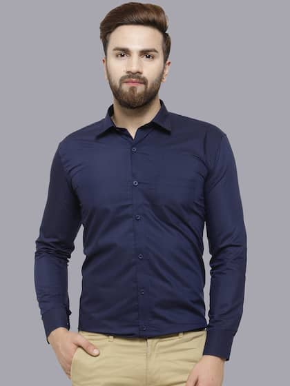 7a9cc72a8b Formal Shirts for Men - Buy Men's Formal Shirts Online | Myntra