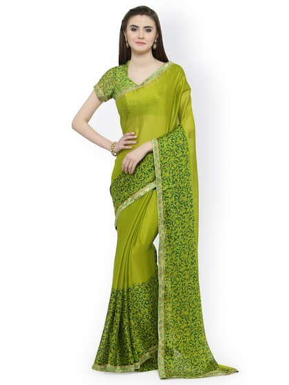 fa4b977166c0fb Printed Saree - Buy Printed Sarees for Women Online in India | Myntra