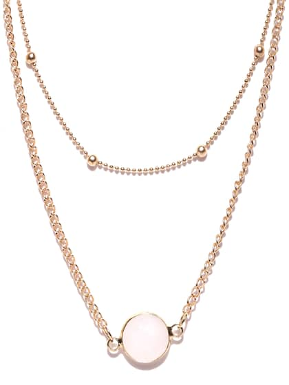 840e28b7af4992 Necklace - Buy Necklace for men, women & girls Online | Myntra