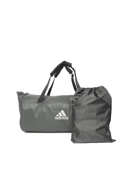 ADIDAS Unisex Charcoal Grey TR CVRT Duffel Bag cum Backpack 18d3ba277e43e