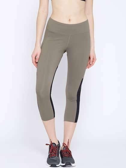 Reebok Patterned Tights Buy Reebok Patterned Tights Online In India Best Women's Patterned Tights