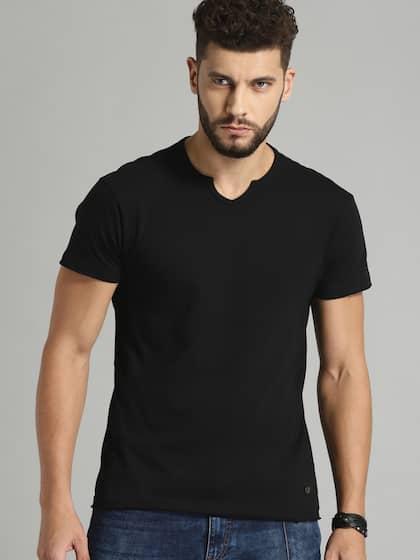 V Neck T-shirt - Buy V Neck T-shirts Online in India  9c0c56bad