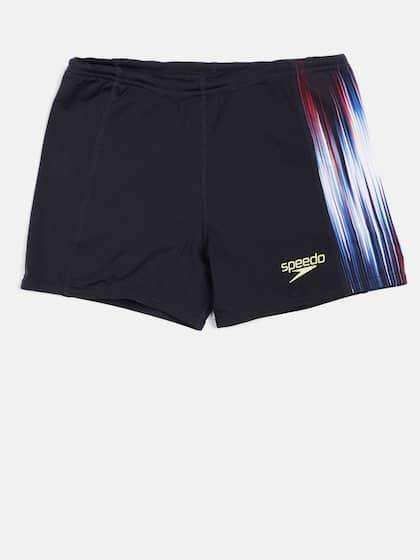 ec925f8b9b Speedo Men Navy Blue Printed POWERSPRINT PNL ASHT V2 AM Swim Shorts  8045107874