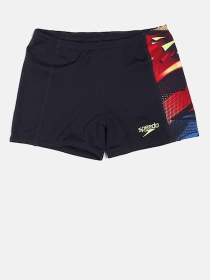 2bd5f8ed73 Speedo Men Navy Blue Printed AQUATICPRO PNL ASHT V2 AM Swim Shorts  8045107875