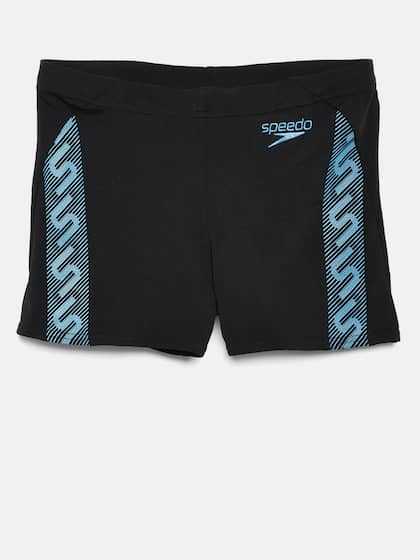 923f90e67dcdc Speedo Men Printed Black Monogram Aquashort Swim Shorts 8087428966