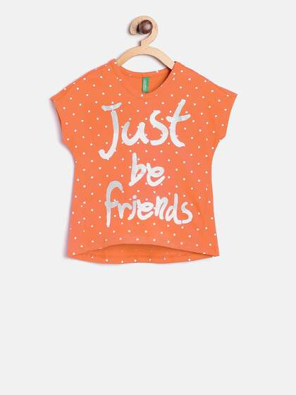 340352dc95b Tops for Girls - Buy Girls Tops & Tshirts Online - Myntra