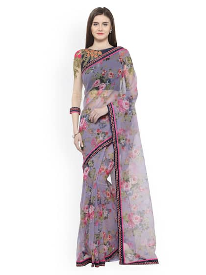 48f40b2b5eb Net Sarees - Buy Stylish Net Saree in India Online - Myntra