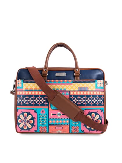 9b0ee2fc53 Chumbak. Printed Laptop Bag