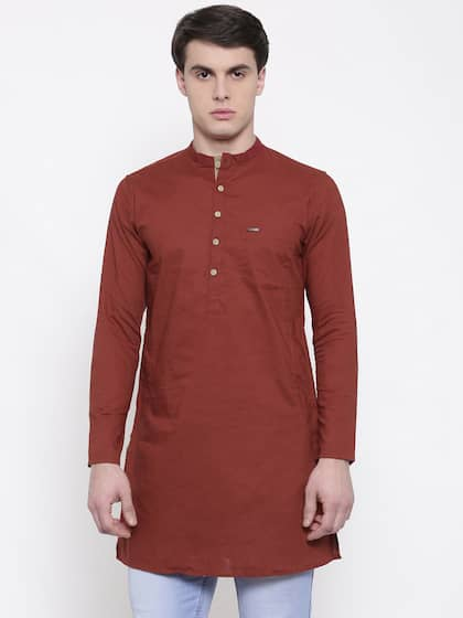 0498731e8d Men Kurta Pyjama - Buy Kurta Pyjama for Men Online in India | Myntra