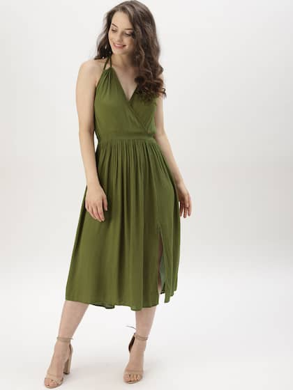 bce40850f4 Women Halter Neck Dresses - Buy Women Halter Neck Dresses online in ...