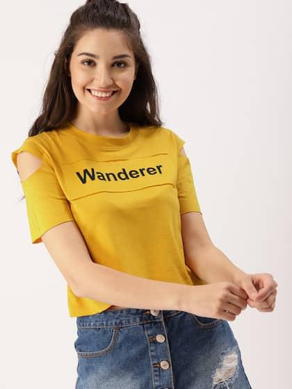 33eff260c33 Cold Shoulder Tops - Buy Cold Shoulder Tops for Women Online - Myntra