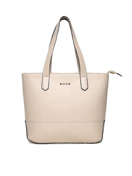 David Jones Beige Shoulder Bag