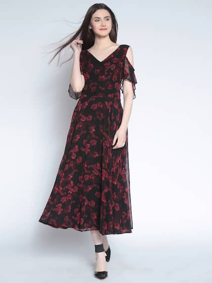 197740dd7 Midi Dresses - Buy Midi Dress for Women & Girl Online | Myntra