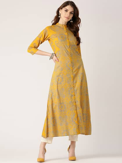 09fc984dd0 Kurtas - Buy Kurtas for Men and Women Online - Myntra