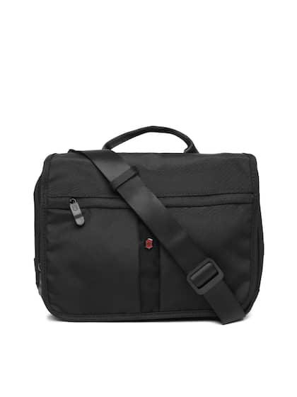 Victorinox Uni Black Solid Messenger Bag
