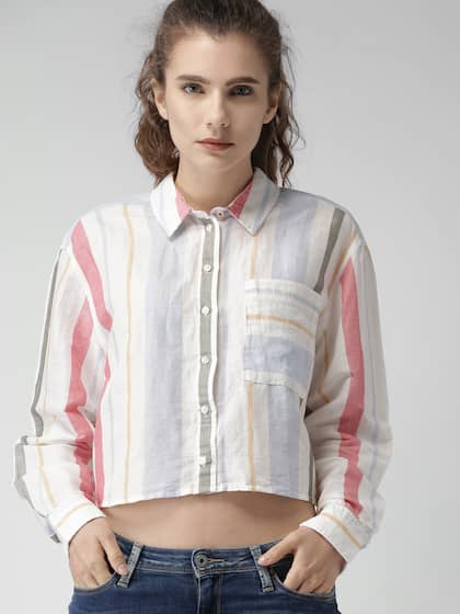 73743fb5 Tommy Hilfiger Women Shirts - Buy Tommy Hilfiger Women Shirts online ...