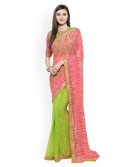 Embroidered Sarees Buy Designer Embroidery Saree Online Myntra