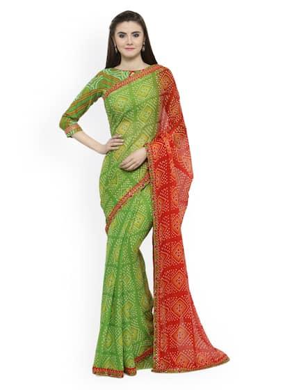 c30a4a0fd11cf4 Chiffon Saree - Buy Elegant Chiffon Sarees online - Myntra