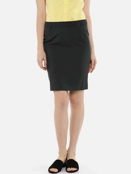 aacef618e3 Formal Skirts - Buy Formal Skirts online in India