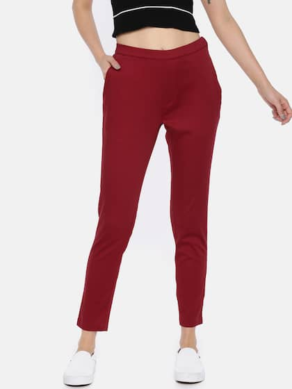 5ca8e31a1e3 Cigarette Pants - Buy Cigarette Trousers for Men and Women Online in ...