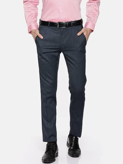 cf9dcba0660813 Van Heusen Trousers - Buy Latest Van Heusen Trouser Online | Myntra