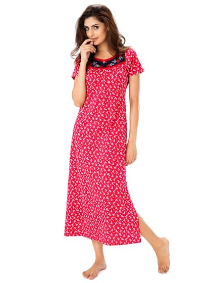 c8953bd948bf Cotton Nightdresses - Buy Cotton Nightdresses Online in India