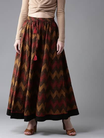 33d5d50b981a Maxi Skirts | Buy Maxi Skirts Online in India at Best Price