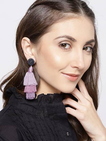 5b71aac099 Purple Earrings - Buy Purple Earrings Online in India