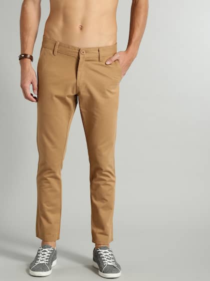 28d0320fc5 Ankle Length Trousers - Buy Ankle Length Trousers online in India