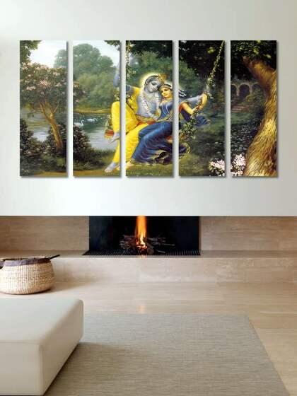 999 Radha Krishna Wall Art