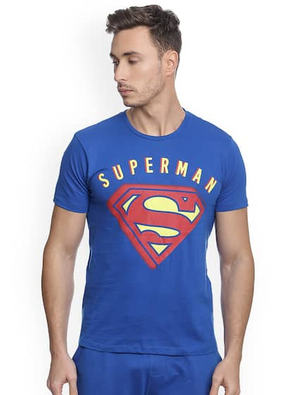 94af7f657fc9b7 Superman T-shirts Buy Superman T-shirt Online in India at Myntra
