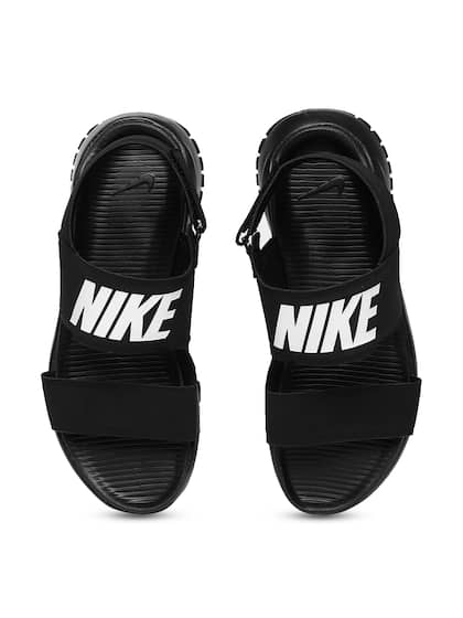 111ede6bc923 Nike Women Black Tanjun Sports Sandals