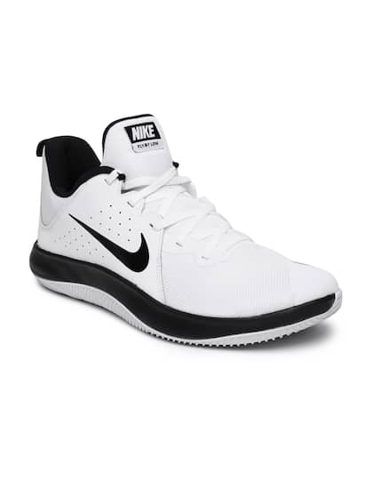 4eaa5c55cefab3 Nike Men White Fly.By Low Leather Basketball Shoe