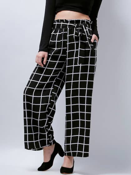4800e8bc Women's Trousers - Shop Online for Ladies Pants & Trousers in India ...