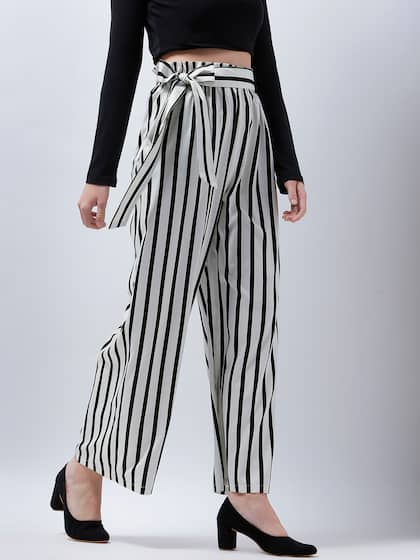 53f08f60ada33 Women's Trousers - Shop Online for Ladies Pants & Trousers in India ...