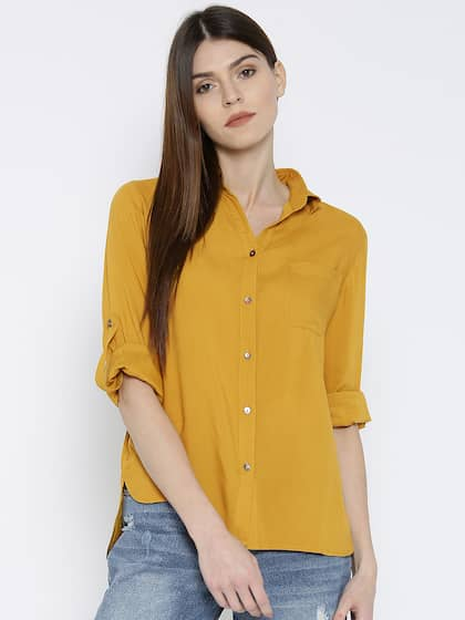 bdef8610a21a1 Women Shirts - Buy Shirts for Women Online in India