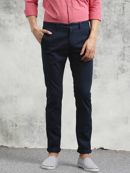 b9b2ed4995b12a Men Casual Trousers - Buy Casual Pants for Men in India - Myntra