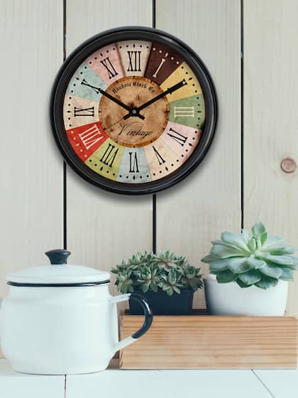 clocks buy clocks timepieces online in india myntra