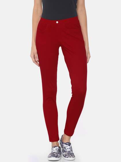 0b8e98dec95588 Red Jeggings - Buy Red Jeggings online in India