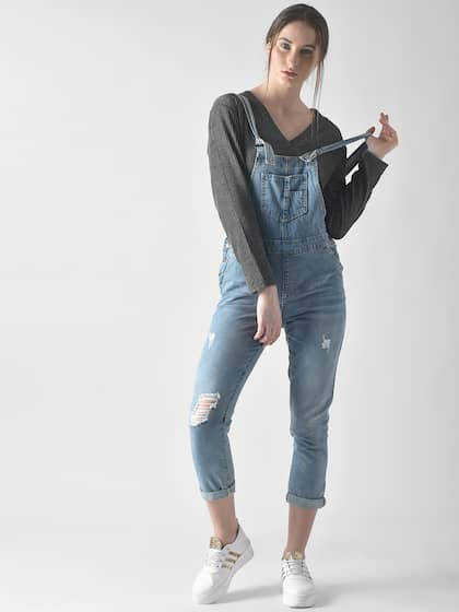 82cc40cdaa Forever 21 Dungarees - Buy Forever 21 Dungarees online in India
