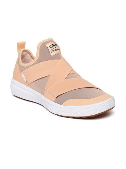 d0c768226159e8 Vans Unisex Peach-Coloured UltraRange Gore Slip-On Sneakers