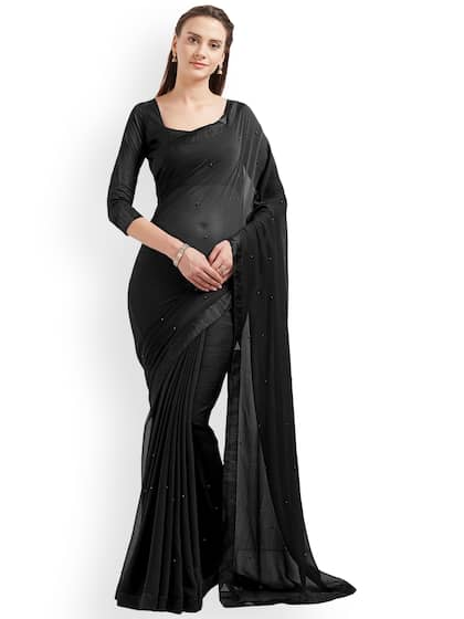 d6df8ba8e63e3f Chiffon Saree - Buy Elegant Chiffon Sarees online - Myntra