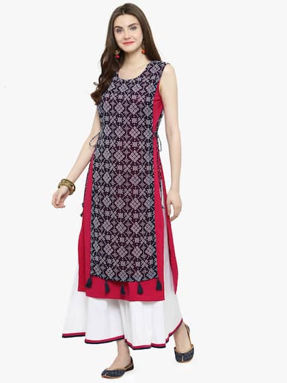 0c51f2b45a9d5 Georgette Kurtas - Buy Georgette Kurtas online in India